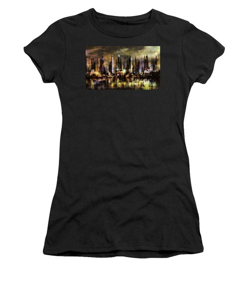 Gotham City IIi Women's T-Shirt (Athletic Fit)