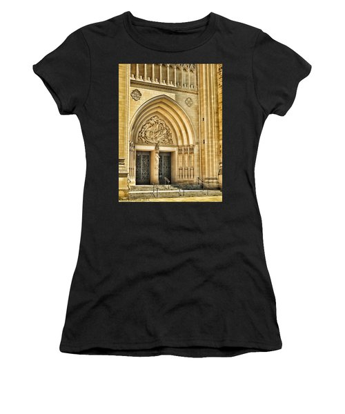 Gothic Entry Women's T-Shirt (Athletic Fit)