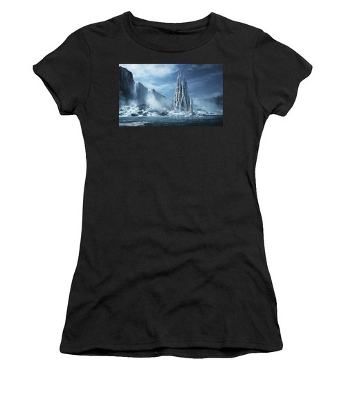 Gothic Fantasy Or Expiatory Temple Women's T-Shirt