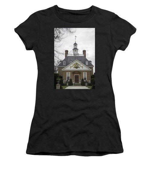 Governors Palace Back Door 01 Women's T-Shirt