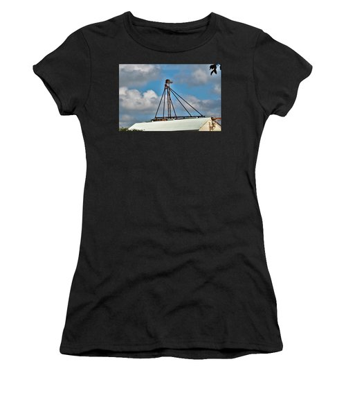 Women's T-Shirt (Junior Cut) featuring the photograph Grain Is Life ...  by Ray Shrewsberry