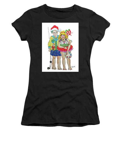 Gram - Cracker And Papa Women's T-Shirt (Athletic Fit)
