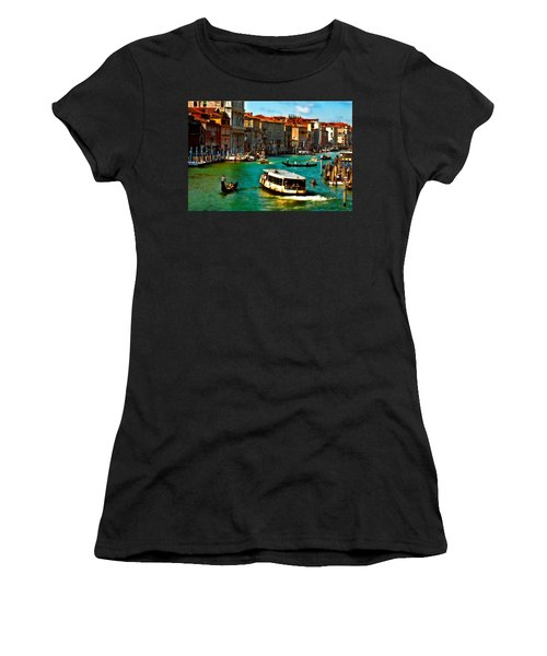 Grand Canal Daytime Women's T-Shirt (Athletic Fit)