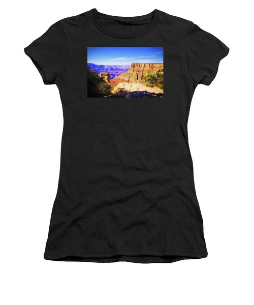 Women's T-Shirt featuring the photograph Grand Canyon Arizona 3 by Tatiana Travelways