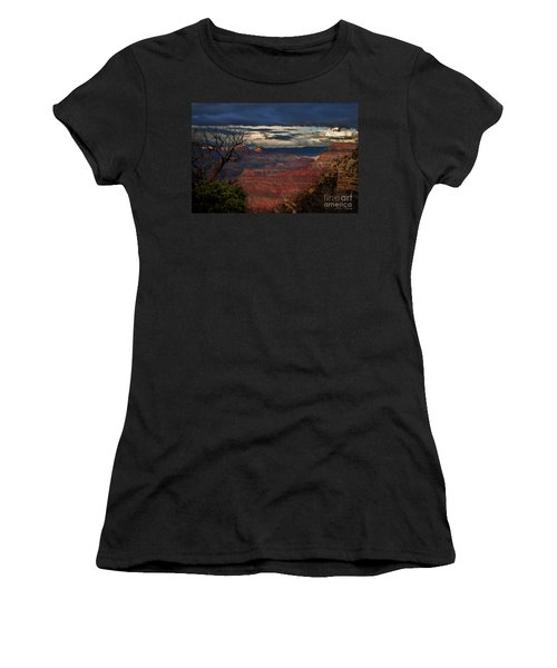 Grand Canyon Storm Clouds Women's T-Shirt