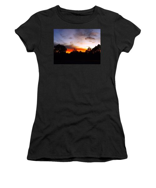Grand Canyon Sunset Women's T-Shirt (Athletic Fit)