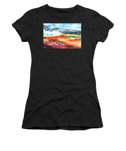 Grand Prismatic Hot Spring Women's T-Shirt