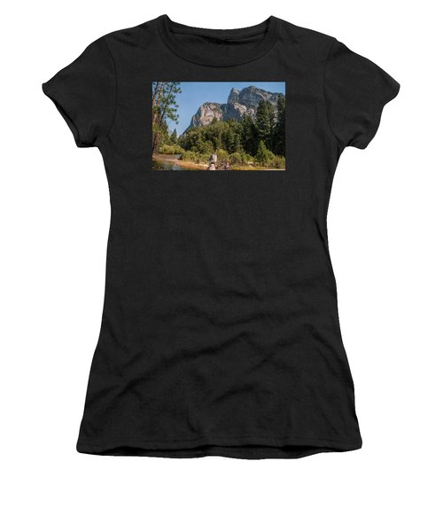 Grand Sentinel Zumalt Meadow Kings Canyon National Park Women's T-Shirt