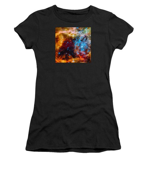 Grand Star-forming Region Women's T-Shirt (Junior Cut) by Marco Oliveira