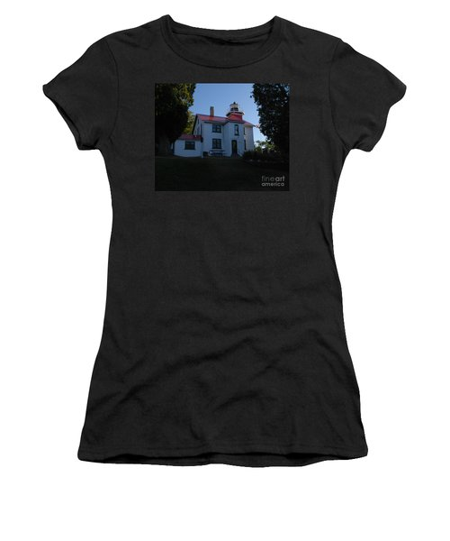 Grand Traverse Light House Women's T-Shirt (Athletic Fit)