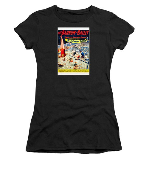 Grand Water Circus Barnum And Bailey 1895 Women's T-Shirt (Athletic Fit)