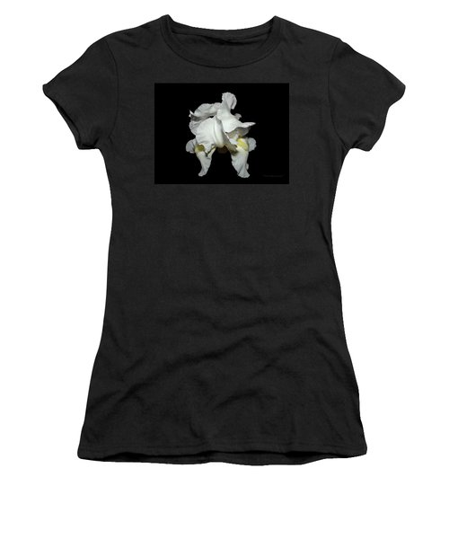 Grandma's White Iris Women's T-Shirt (Athletic Fit)
