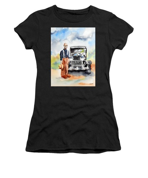 Grandpa's Chevy Women's T-Shirt (Athletic Fit)