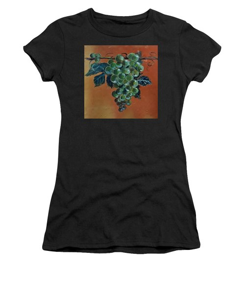 Grape Women's T-Shirt (Athletic Fit)