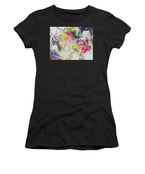 Grapes In Season Women's T-Shirt (Athletic Fit)