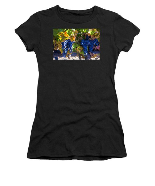 Grapes Ready For Harvest Women's T-Shirt