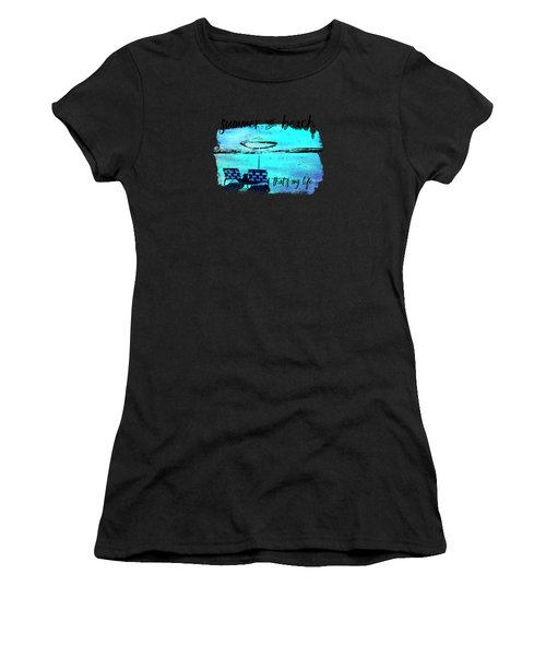 Graphic Art Summer And Beach Women's T-Shirt