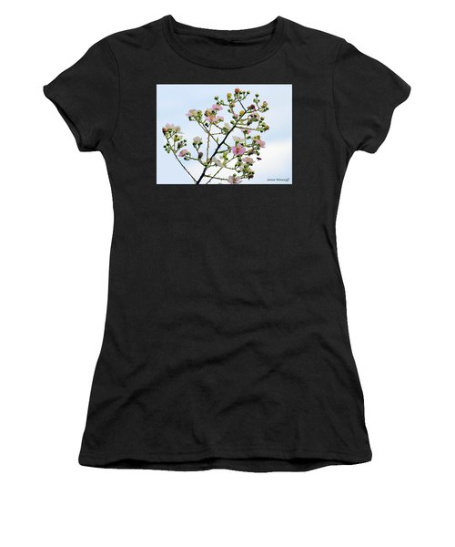 Grasping For The Hands Of Heaven Women's T-Shirt (Athletic Fit)