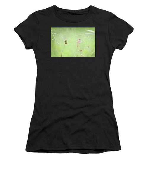 Grasses And Blooms Women's T-Shirt (Athletic Fit)