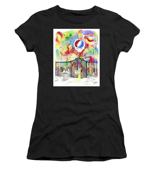 Grateful Dead Concert In Heaven Women's T-Shirt