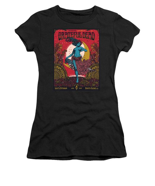 Grateful Dead Levi's Stadium Santa Clara Ca Women's T-Shirt