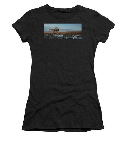 Gray Day Mallards Women's T-Shirt