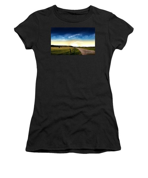 Grazing Time Women's T-Shirt (Athletic Fit)