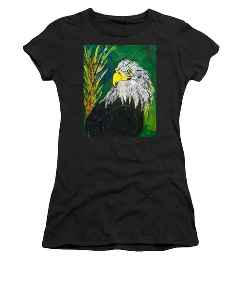 Great Bald Eagle Women's T-Shirt (Athletic Fit)