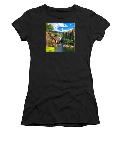 Great Falls In Paterson Women's T-Shirt (Athletic Fit)