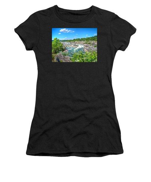 Great Falls On The Potomac Women's T-Shirt