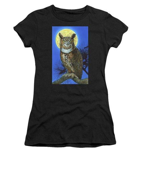 Great Horned Owl 2 Women's T-Shirt