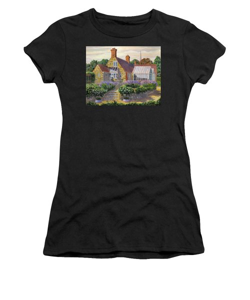 Great Houghton Cottage Women's T-Shirt (Athletic Fit)