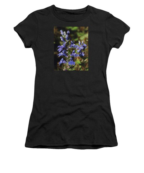 Great Lobelia Blues Women's T-Shirt (Athletic Fit)