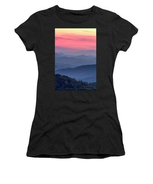 Great Smoky Mountain Sunset Women's T-Shirt