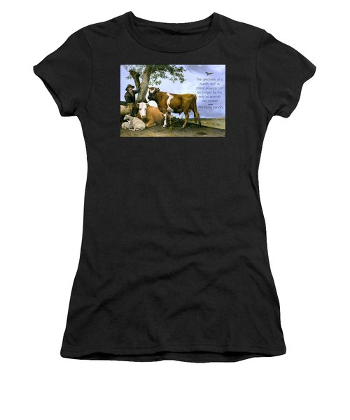 Greatness Of A Nation Women's T-Shirt