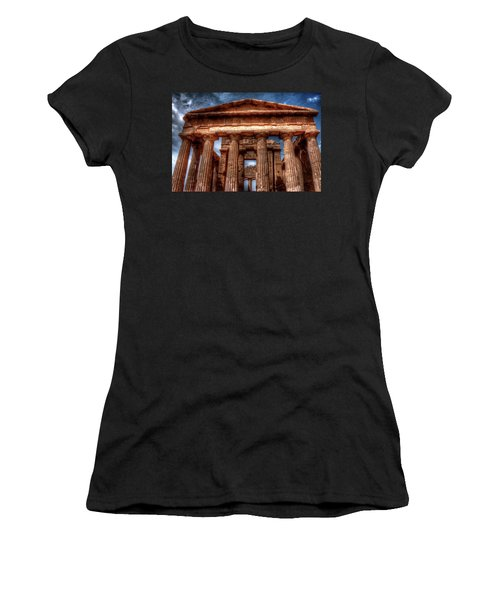 Temple Of Concord  Women's T-Shirt (Athletic Fit)