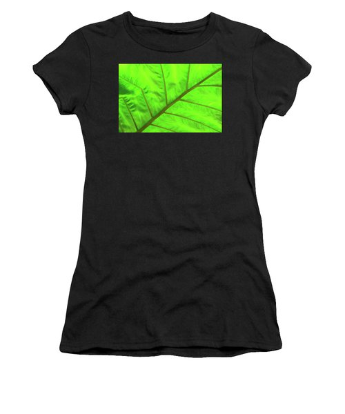 Green Abstract No. 5 Women's T-Shirt