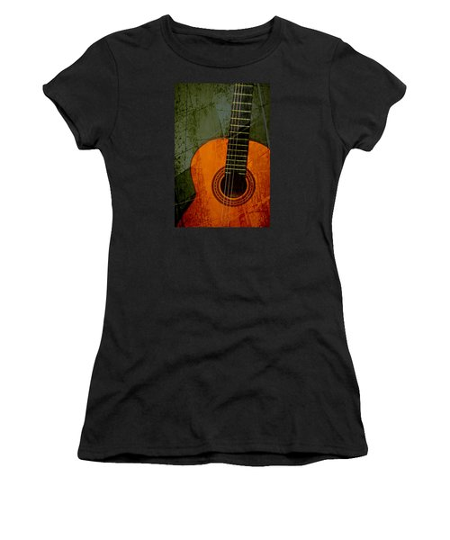 Green Canvas Women's T-Shirt (Athletic Fit)