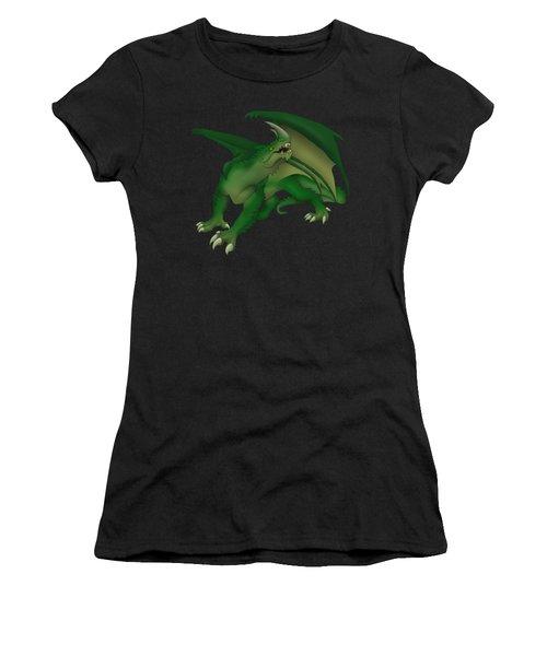 Green Dragon Women's T-Shirt (Junior Cut) by Gaynore Craps