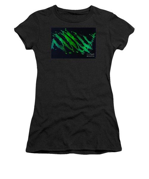 Green Escape Women's T-Shirt (Athletic Fit)