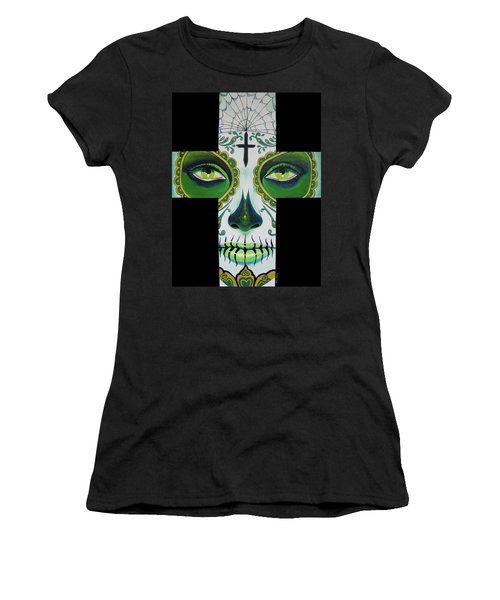 Green Eyes Women's T-Shirt (Athletic Fit)