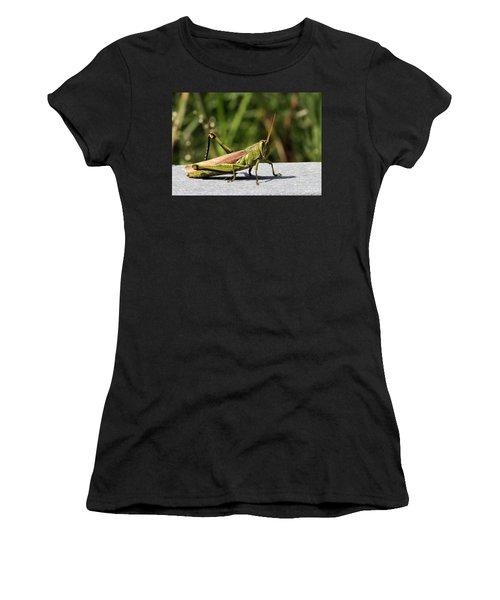Green Grasshopper Women's T-Shirt