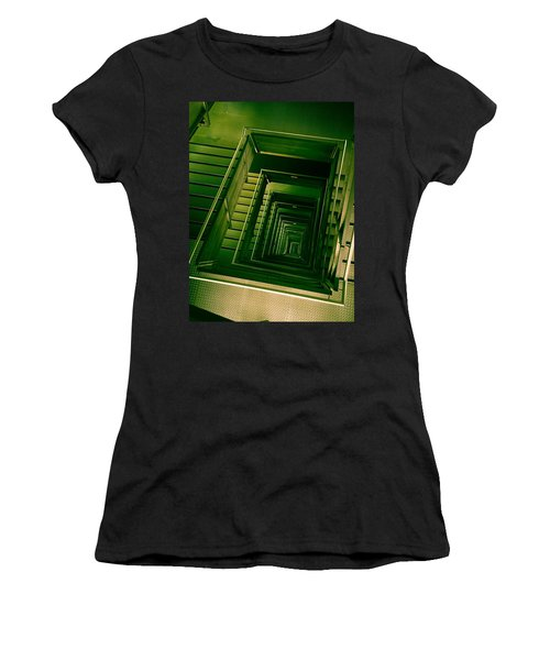 Green Infinity Women's T-Shirt (Athletic Fit)