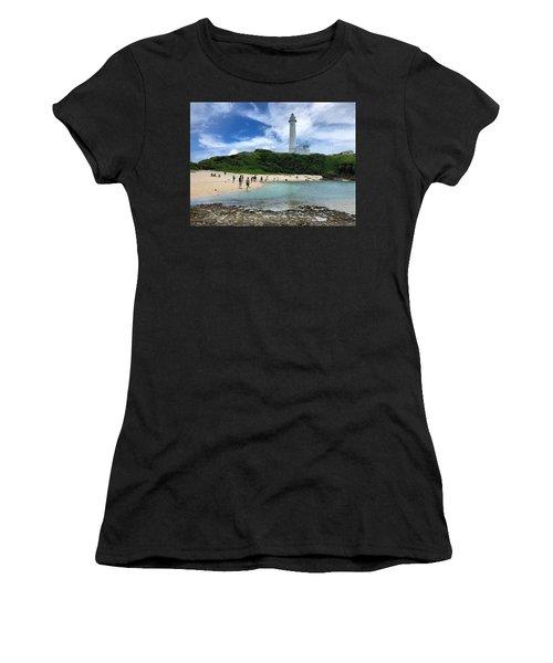 Green Island Beach Women's T-Shirt