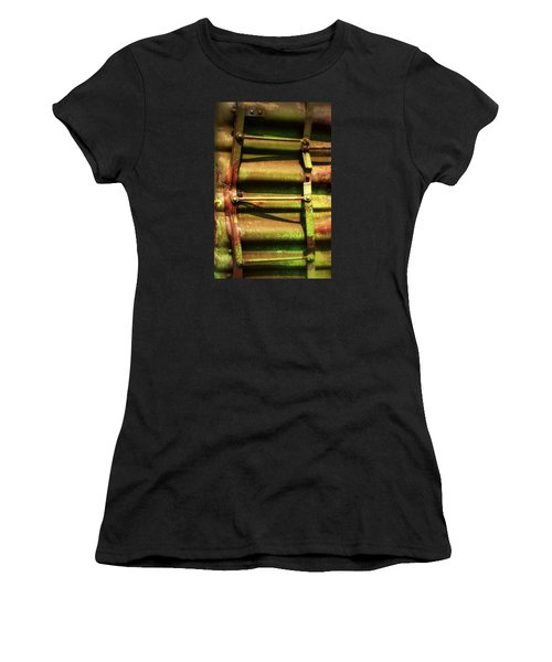 Green Ladder Women's T-Shirt (Athletic Fit)