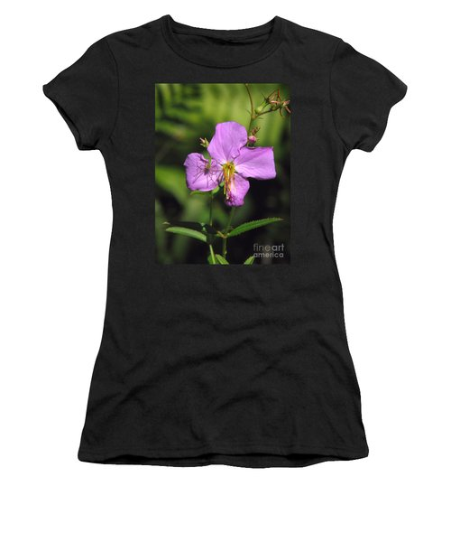 Green Lynx Spider On Meadow Beauty Women's T-Shirt
