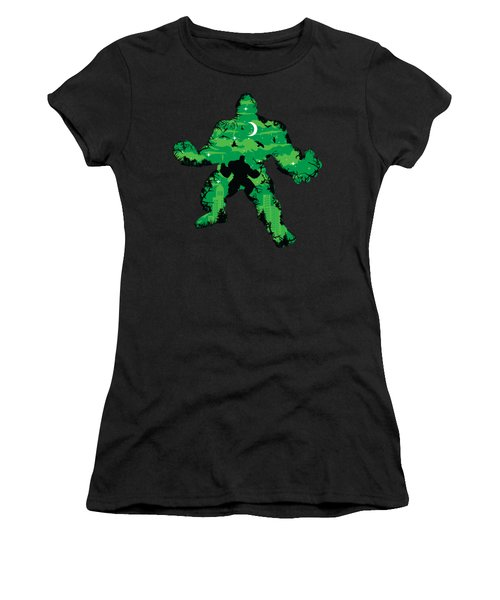 Green Monster Women's T-Shirt (Athletic Fit)