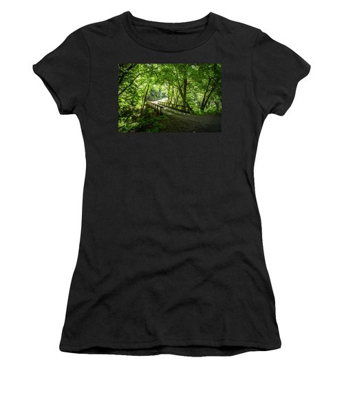 Green Nature Bridge Women's T-Shirt
