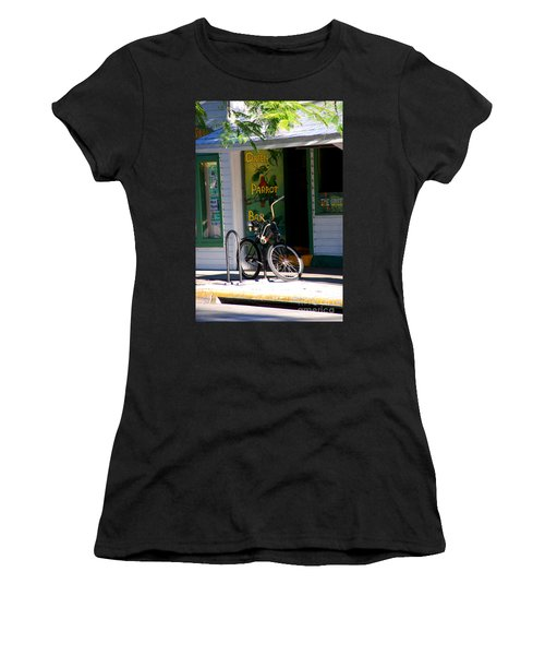 Green Parrot Bar Key West Women's T-Shirt