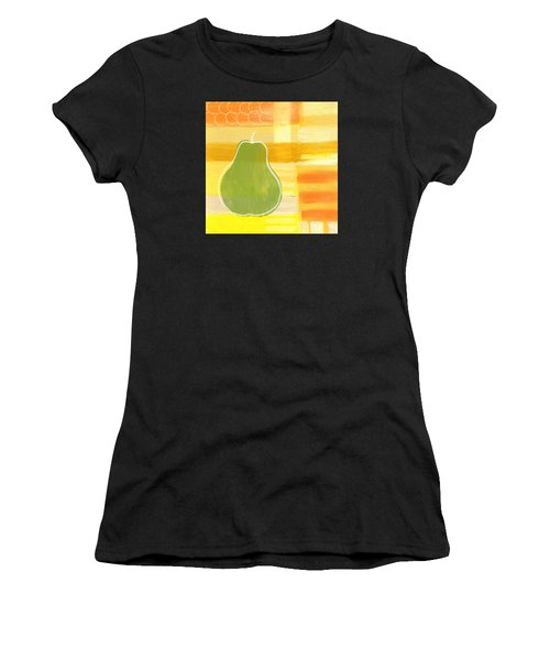 Green Pear- Art By Linda Woods Women's T-Shirt